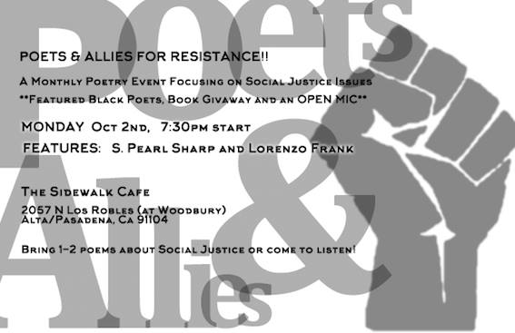 Poets & Allies for Resistance